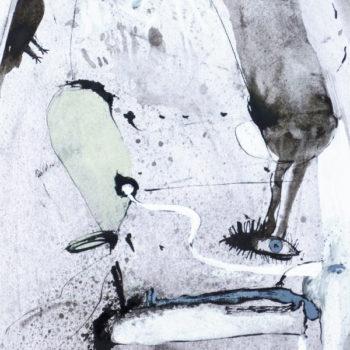 Droom,OI inkt en aquarel op papier, 40: 25cm,2011